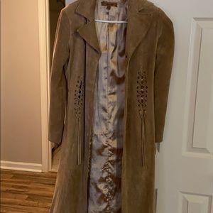 Long button up jacket Arden b jacket
